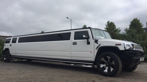 Wedding Hummer Limo Hire Nottingham
