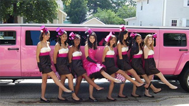 Hen Night Limo Hire Nottingham